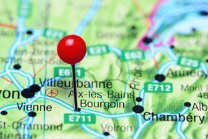 Lloguer de cotxes Bourgoin Jallieu, França