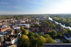 Lloguer de cotxes Worcester, Regne Unit
